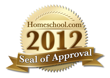 2012 Homeschool.com Seal of Approval