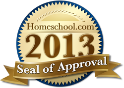2013 Homeschool.com Seal of Approval
