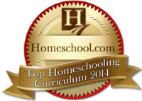2014 Homeschool.com Top Curriculum Award