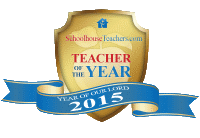 2015 SchoolhouseTeachers.com teacher of the year award