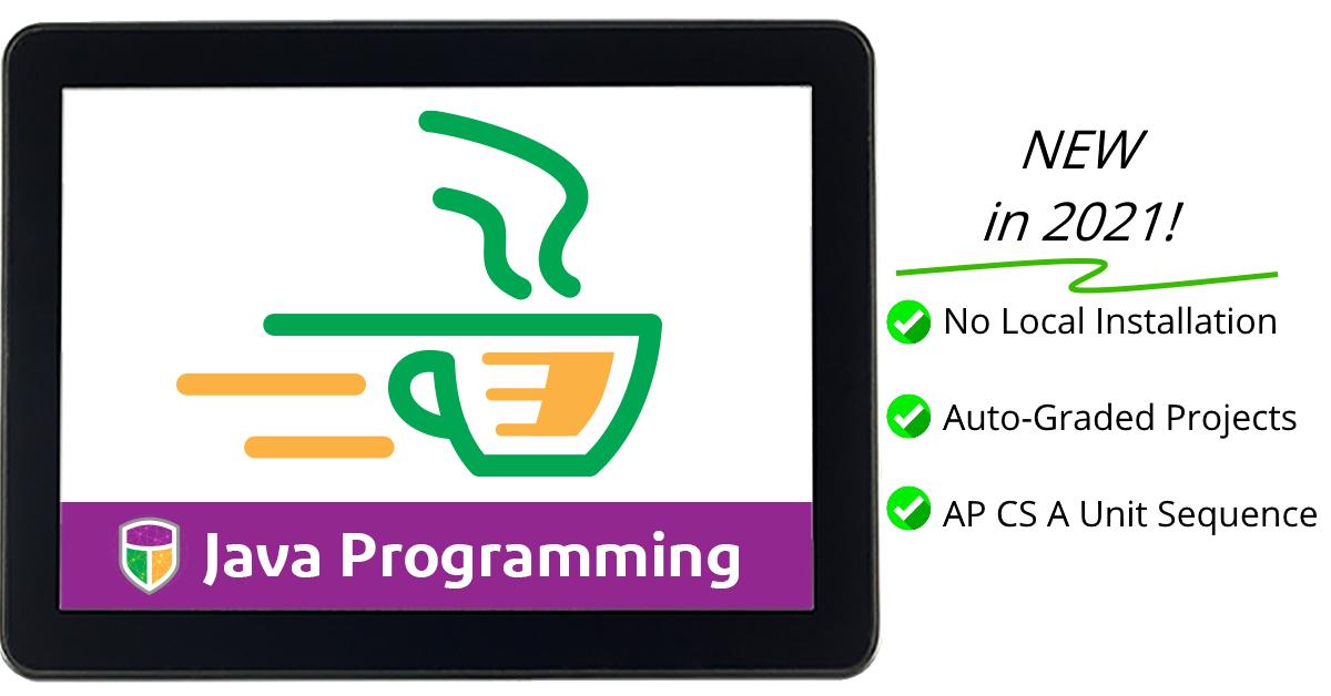 "Introducing ""Java Programming"" 2021"